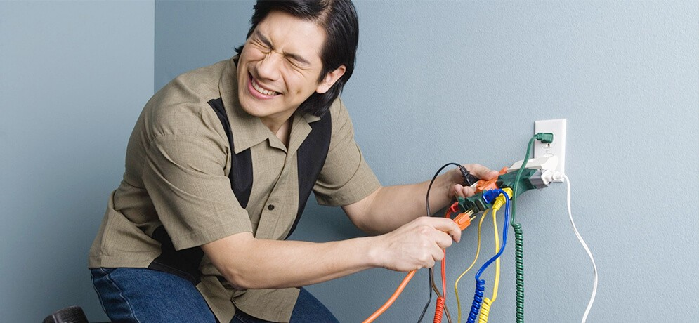 основные ошибки электромонтажа