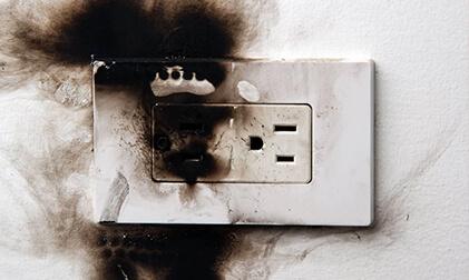 как избежать пожара от загоревшейся проводки