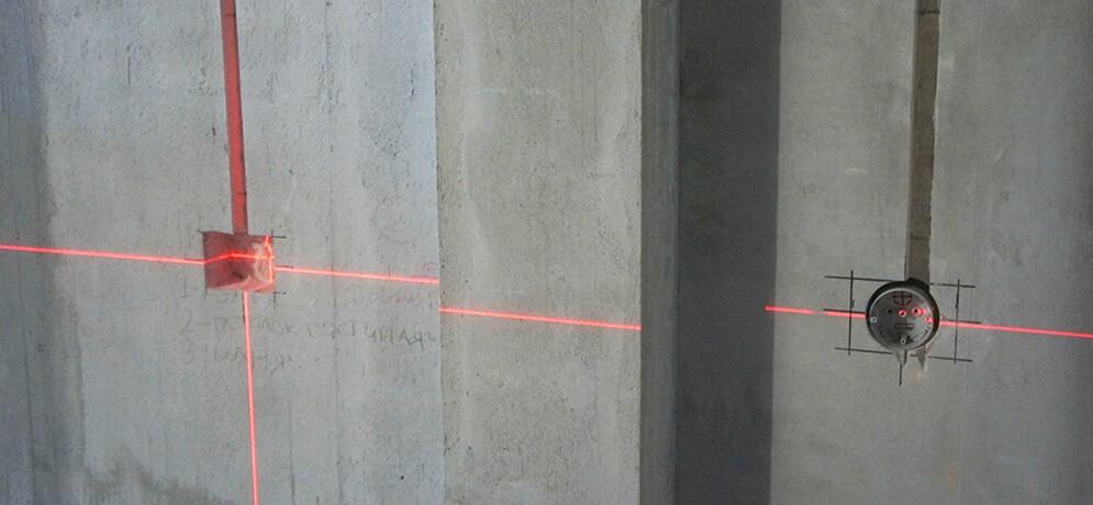 разметка стен при монтаже электрики